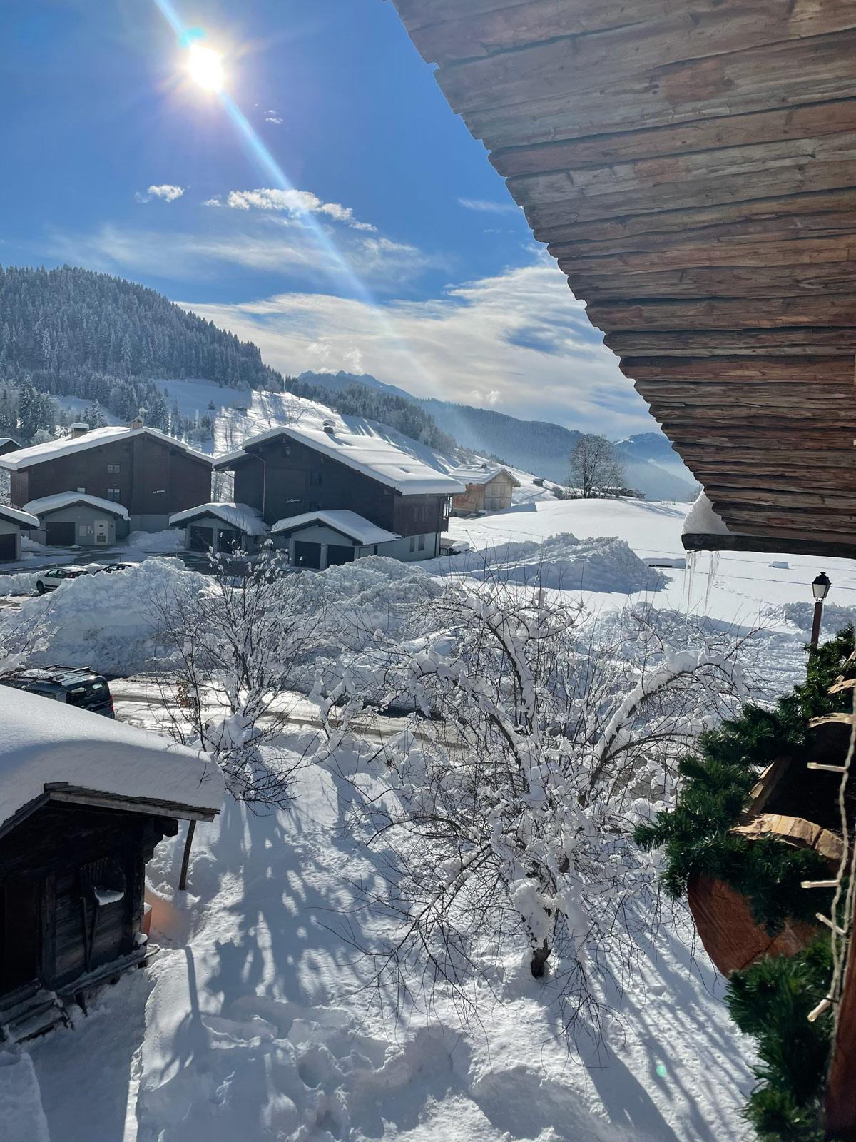 Chalet-Haute-savoie hiver